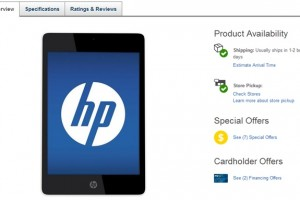 HP Slate 8 Pro and HP Slate 7 Extreme Are Now Available at Best Buy