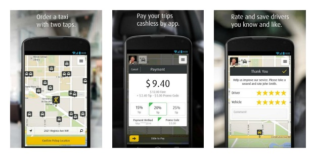 mytaxi – The Taxi App Collage