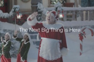 Samsung's Santa Commercial 2013, Less Disturbing Than Last Years?