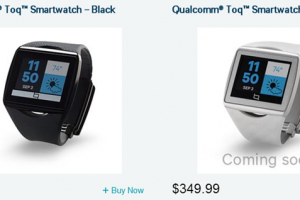 Qualcomm Toq Smartwatch Can Now Be Ordered for $349.99