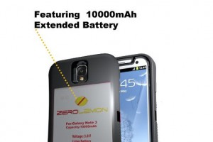 Galaxy Note 3 Battery Life Not Good Enough For You? How About a 10,000 mAh Battery from ZeroLemon?