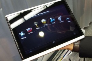 Audi Makes The Jump From Manufacturing Cars To Tablets; Shows Off It's Interfaceable Android Tablet At CES