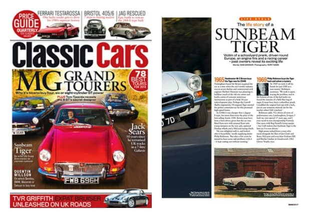 Classic Cars Collage