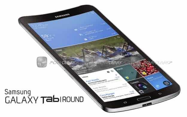 Galaxy Tab Round