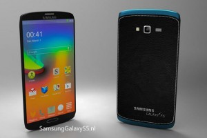 Samsung Galaxy S5 Concept – Showing Metallic Case and New TouchWiz