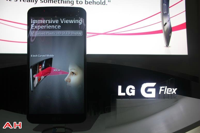LG G Flex Big Phone