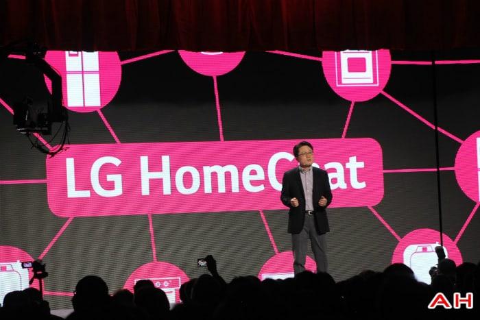 LG HomeChat Press