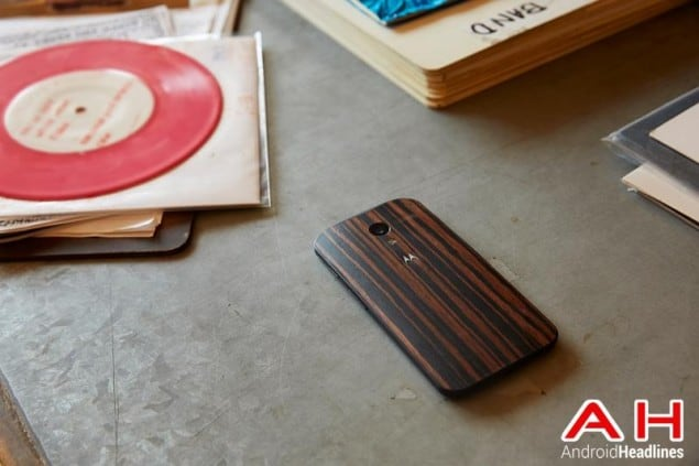 Moto X Ebony Wood AH