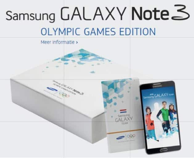 Note 3 Olympics