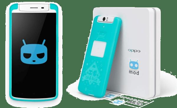 OppoN1 CyanogenMod