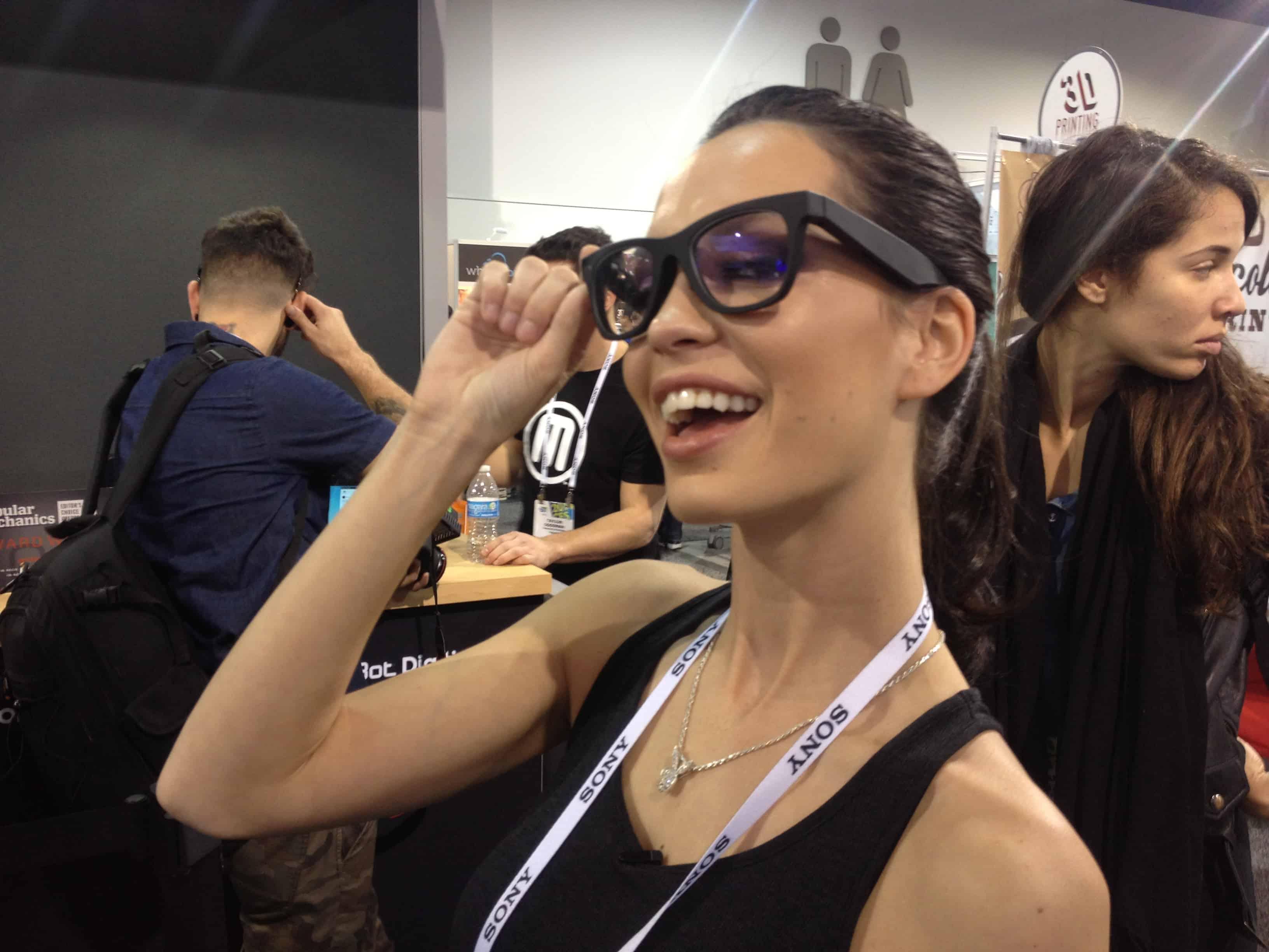 Pamela Horton tries out Epiphany Eyewear