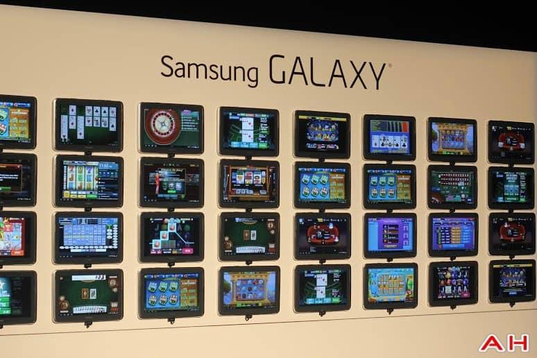 Samsung Galaxy Tab Pro Wall