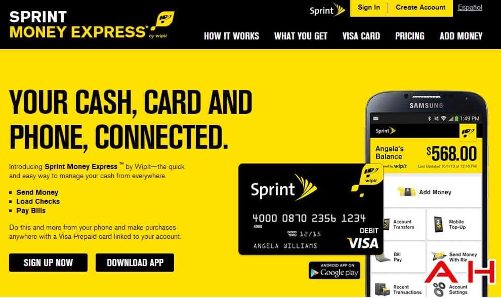 Sprint money express