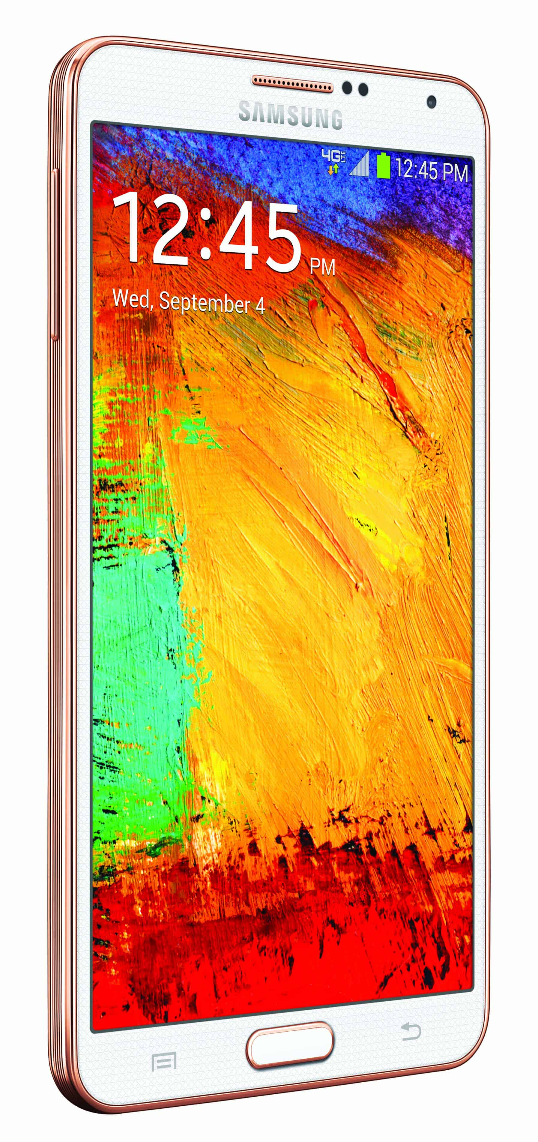 Verizon n900v Note 3 White V right