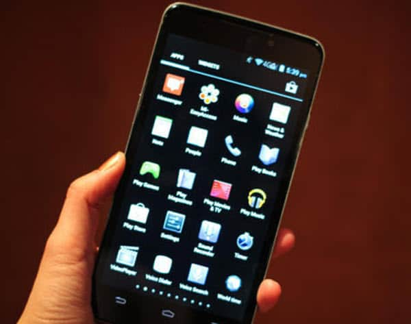 ZTE Phablet front