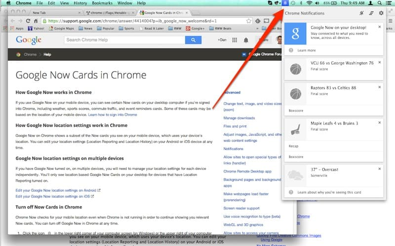 chrome_now_notifications