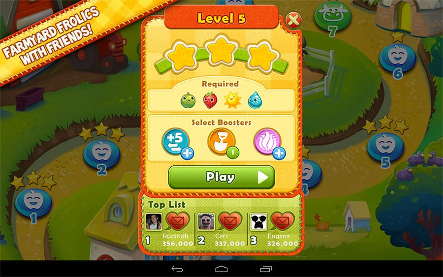 Tooth A Break From Candy Crush Saga And Try Farm Heroes Saga Instead