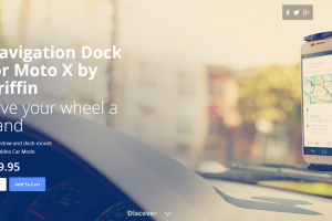 Griffin's Car Dock for the Moto X Is Now Back in Stock