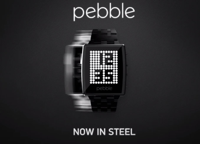 Pebble Smart Watch upgraded