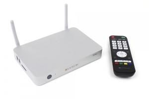 Transform Your TV Into A Little Green Robot With The Satechi Android TV Box
