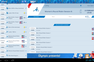 The Official Guide App For The 2014 Winter Olympics Is Now Available For Android