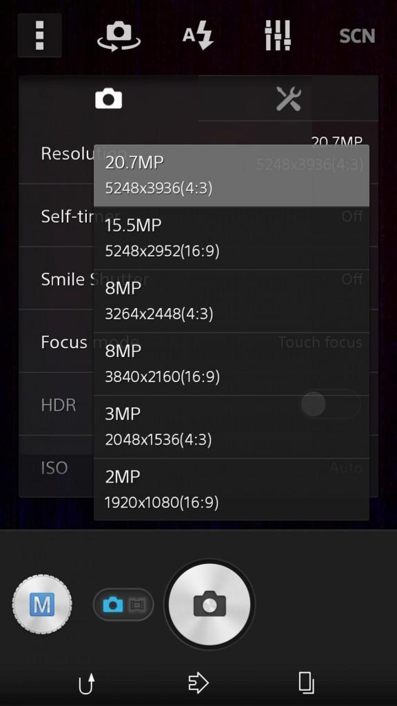 15.5MP-Manual-Mode-camera-settings-in-Sony-D6503-sirius