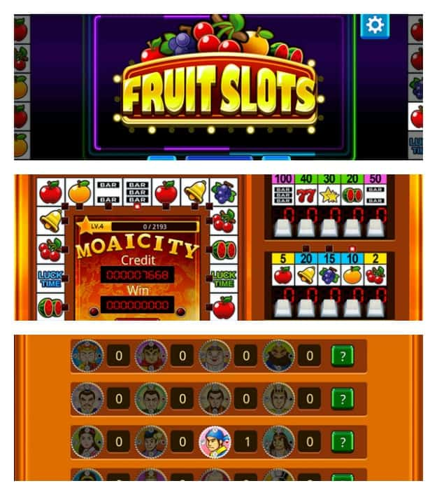 Fruit Slots Collage