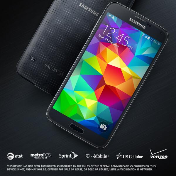 Galaxy S5 Carriers