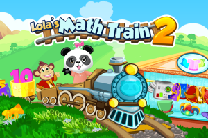 Sponsored Game Review: Lola Panda's Math Train 2