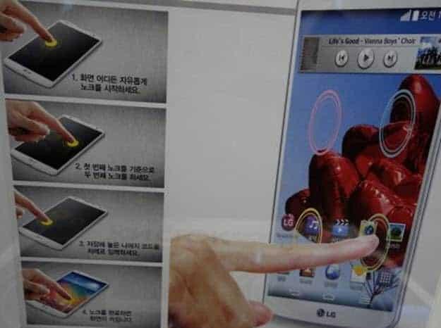 LG G Pro 2 Knock 2