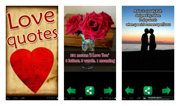 Love Quotes Collage
