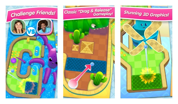 Mini Golf MatchUp Collage