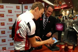 Rogers Shows Off Suretap Payment Solutions