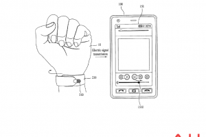 LG Applies For Weird Patent For A Wrap Around, Wrist-Worn Stylus