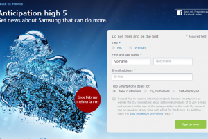 German Carrier Unveils Galaxy S5 Teaser Site