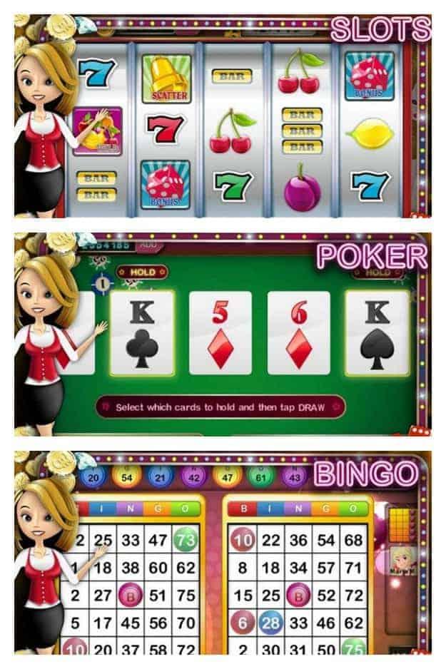 Slot Casino - Collage