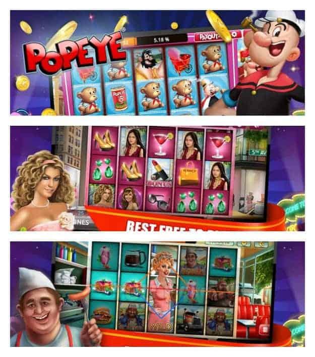 Slot City - Free Casino Slots Collage
