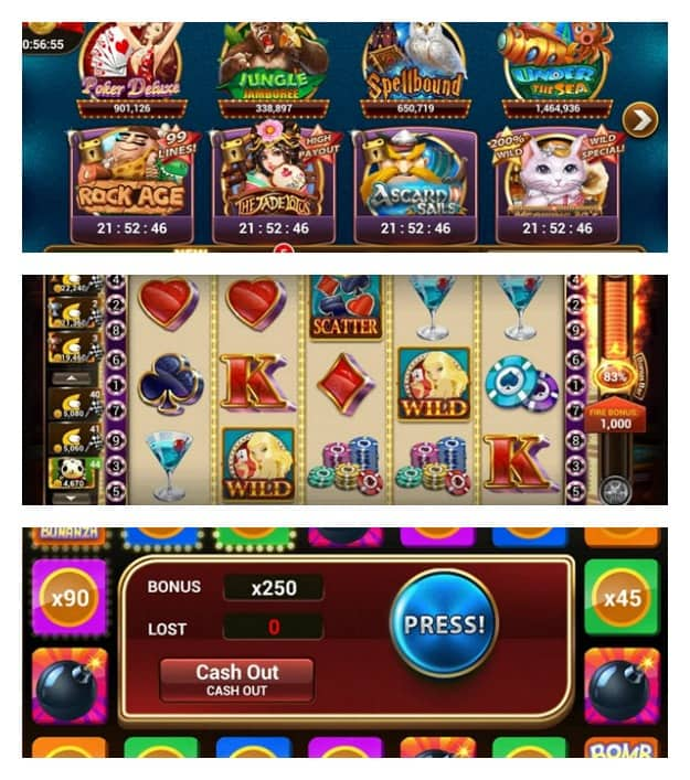 Slot Machines by IGG Collage