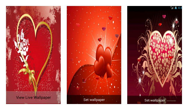 Valentines Day Live Wallpaper Collage
