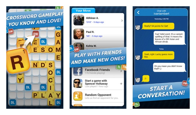 Words With Friends Collage