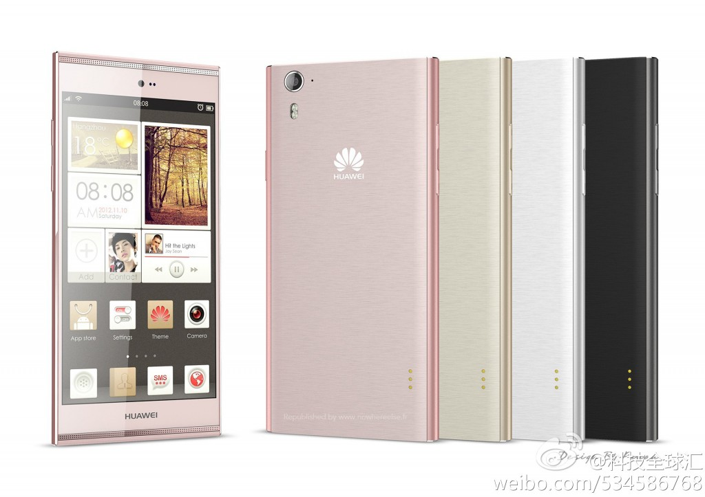 Huawei Ascend P7 Leaked, Offers A 5 inch 1080p Display And 13 MP Camera