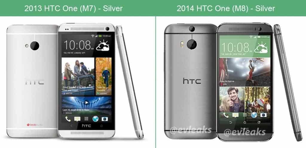 htc one 2013 versus 2014 silver 1024x498