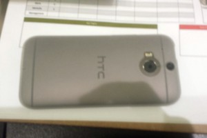 HTC One 2014 in Silver Shows Up on Mr Blurry Cam