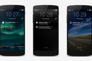 SlideLock is a Lockscreen Replacement that Displays Your Notifications