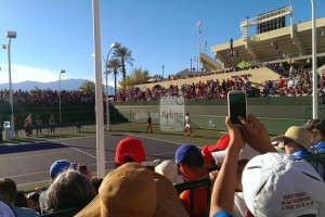 Yet Another HTC One Leak, This Time a Guy Taking Pictures at a Tennis Match