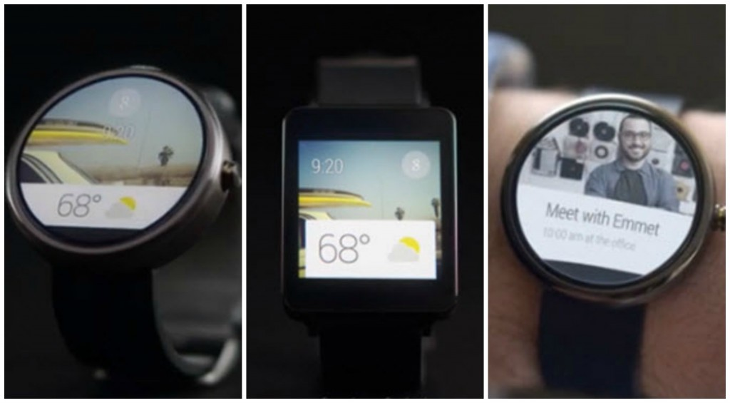 Android Wear Collage
