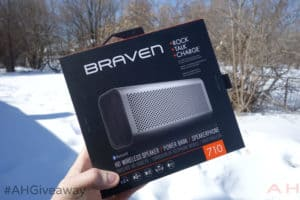 AH Weekly Friday Giveaway : Braven 710 Portable Bluetooth Speaker