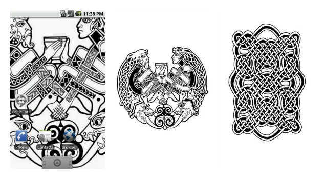 Celtic Tattoo Designs Set 2 Collage
