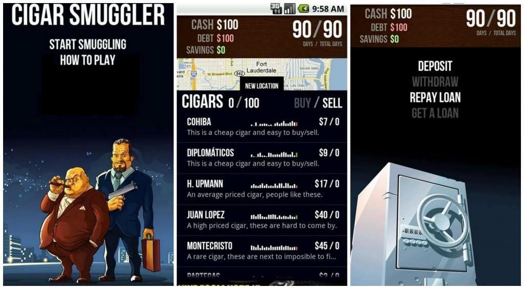 Cigar Smuggler Collage