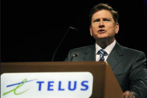 TELUS: Entwistle Steps Down and Joe Natale Takes Over as President and CEO